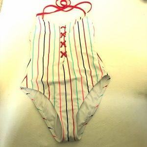 xhilaration  One piece swim Suit . Size  M